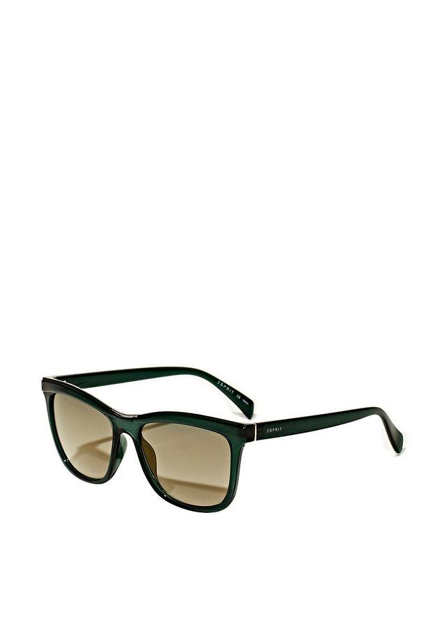 SONNENBRILLE MIT METALL-DETAIL - Sunglasses - green