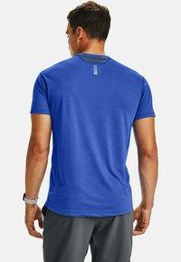 Under Armour - STREAKER SHORTSLEEVE - Sports shirt - emotion blue - 1