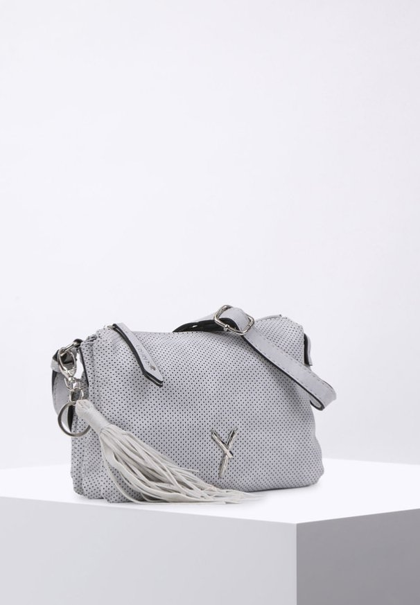 ROMY BASIC - Across body bag - grey