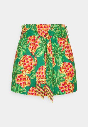 PINEAPPLE GALORE PAPER BAG - Shorts - multi