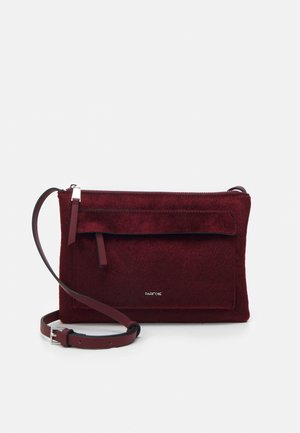 CROSSBODY BAG CONFETTI - Skulderveske - burgundy