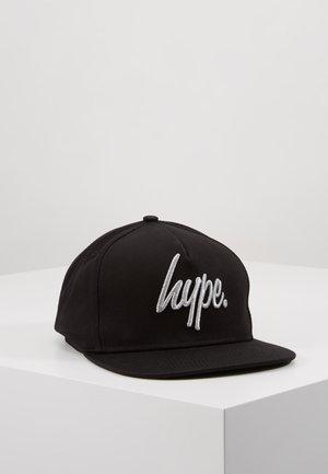 CAP - REFLECTIVE SCRIPT - Keps - black