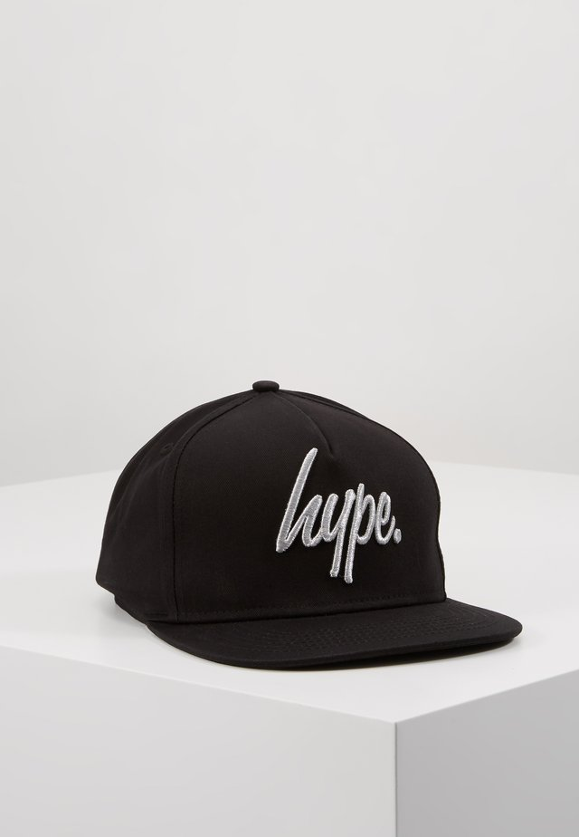 CAP - REFLECTIVE SCRIPT - Casquette - black