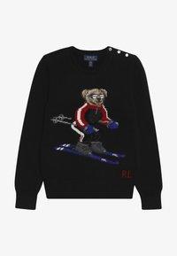 Polo Ralph Lauren - SKI BEAR - Strickpullover - black - 2