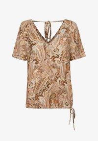 Cream - CRLULLA - Print T-shirt - rose brown paisley - 4