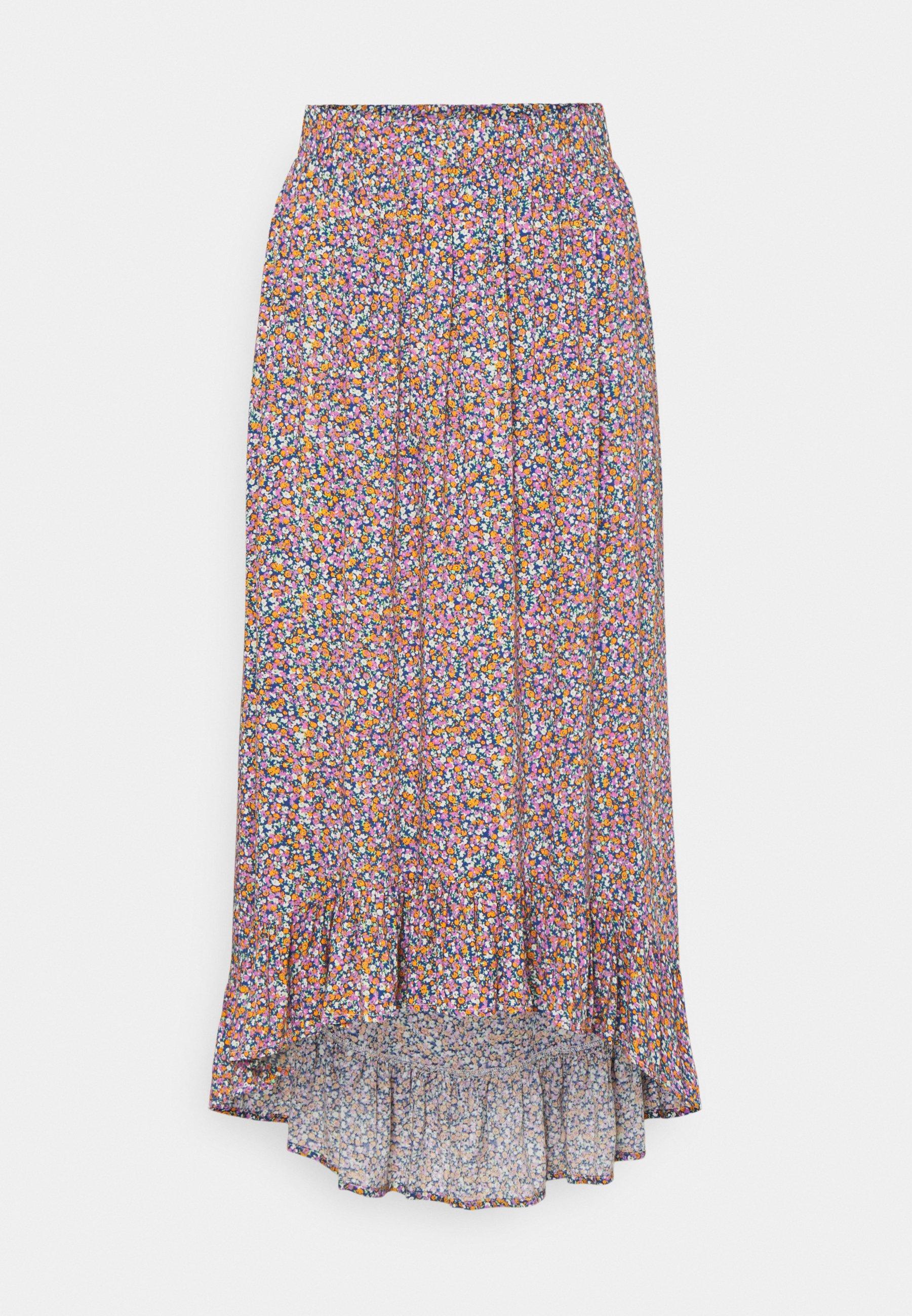 Women PCTIMBERLY MIDI SKIRT TALL - Maxi skirt
