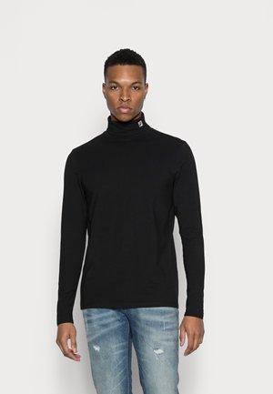 TITO TURTLE NECK - Bluzka z długim rękawem - black