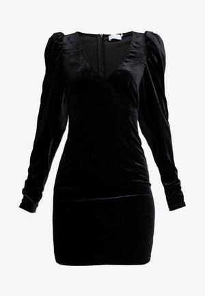HANNA WEIG PUFF SHOULDER DRESS - Juhlamekko - black