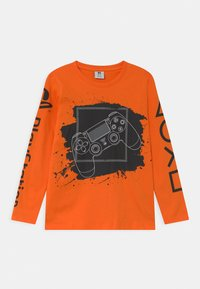 Lindex - PLAYSTATION - Long sleeved top - orange - 0