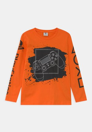 PLAYSTATION - Long sleeved top - orange