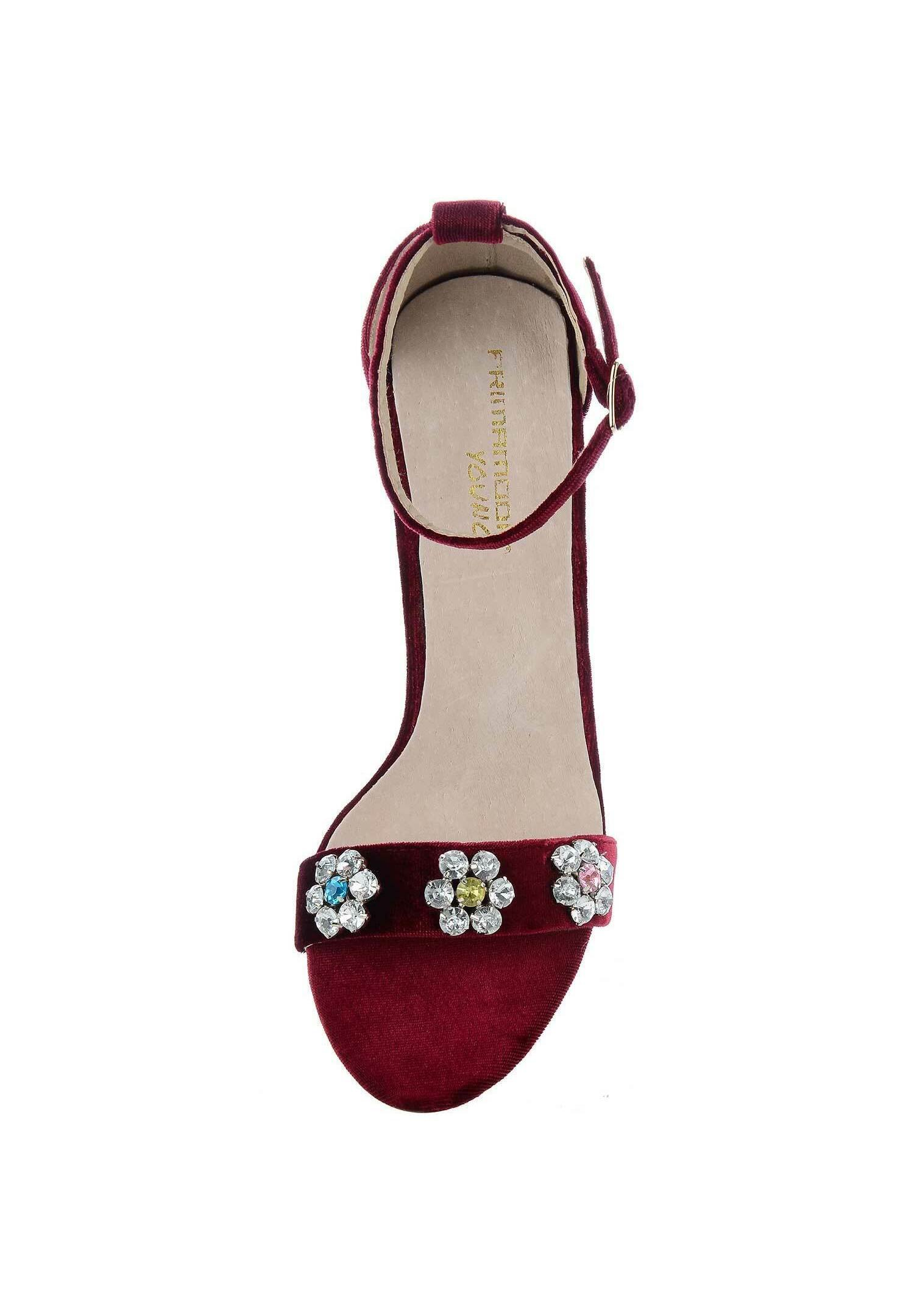 PRIMA MODA ABRIOLA - High heeled sandals - bordeux