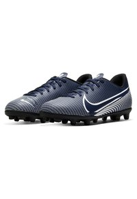 Nike Performance - MERCURIAL JR VAPOR 13 CLUB FG/MG UNISEX - Moulded stud football boots - midnight navy/white - 2