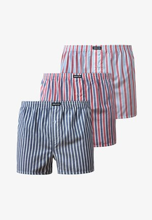 SNOCKS 3 PACK - Boxer shorts - stripe
