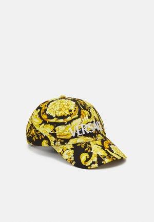UNISEX - Cap - black/gold-coloured