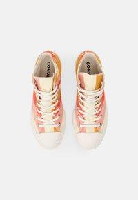 Converse - CHUCK TAYLOR ALL STAR LIFT - High-top trainers - sunflower gold/bright poppy/pink quartz - 5