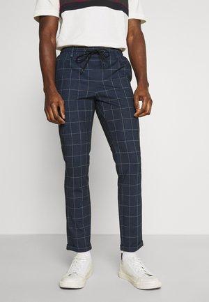 NEW EBERLEIN EXCLUSIV - Pantalon classique - blue
