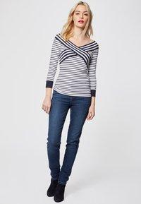 Morgan - Slim fit jeans - black denim - 1