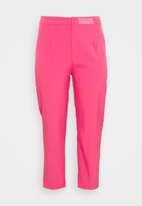 Missguided Plus - TAILORED CIGARETTE TROUSER - Trousers - hot pink - 1