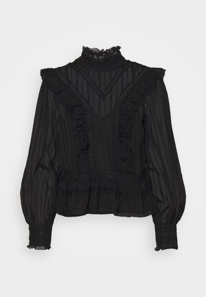 VICTORIANA CLARISSA - Long sleeved top - black