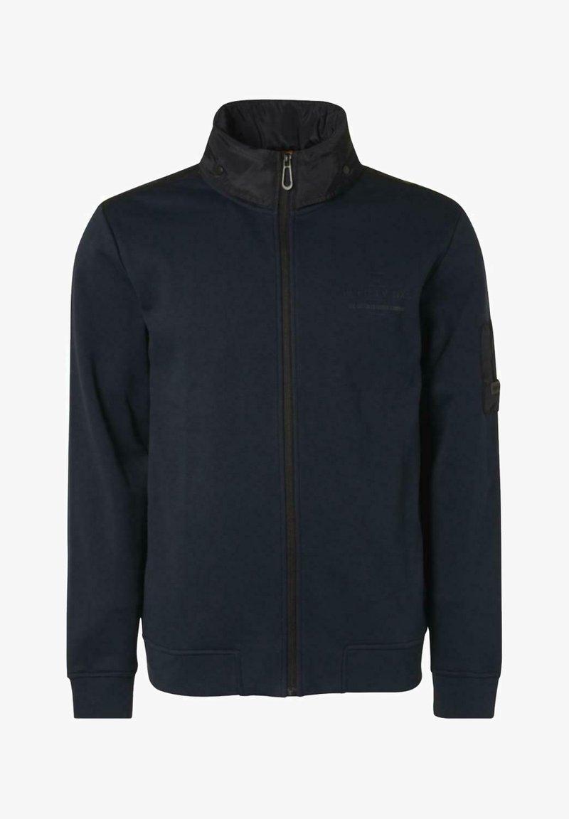 No Excess - Zip-up sweatshirt - dark blue