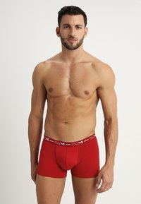 DIM - 3 PACK - Pants - gris plomb/rouge chilli/noir - 1