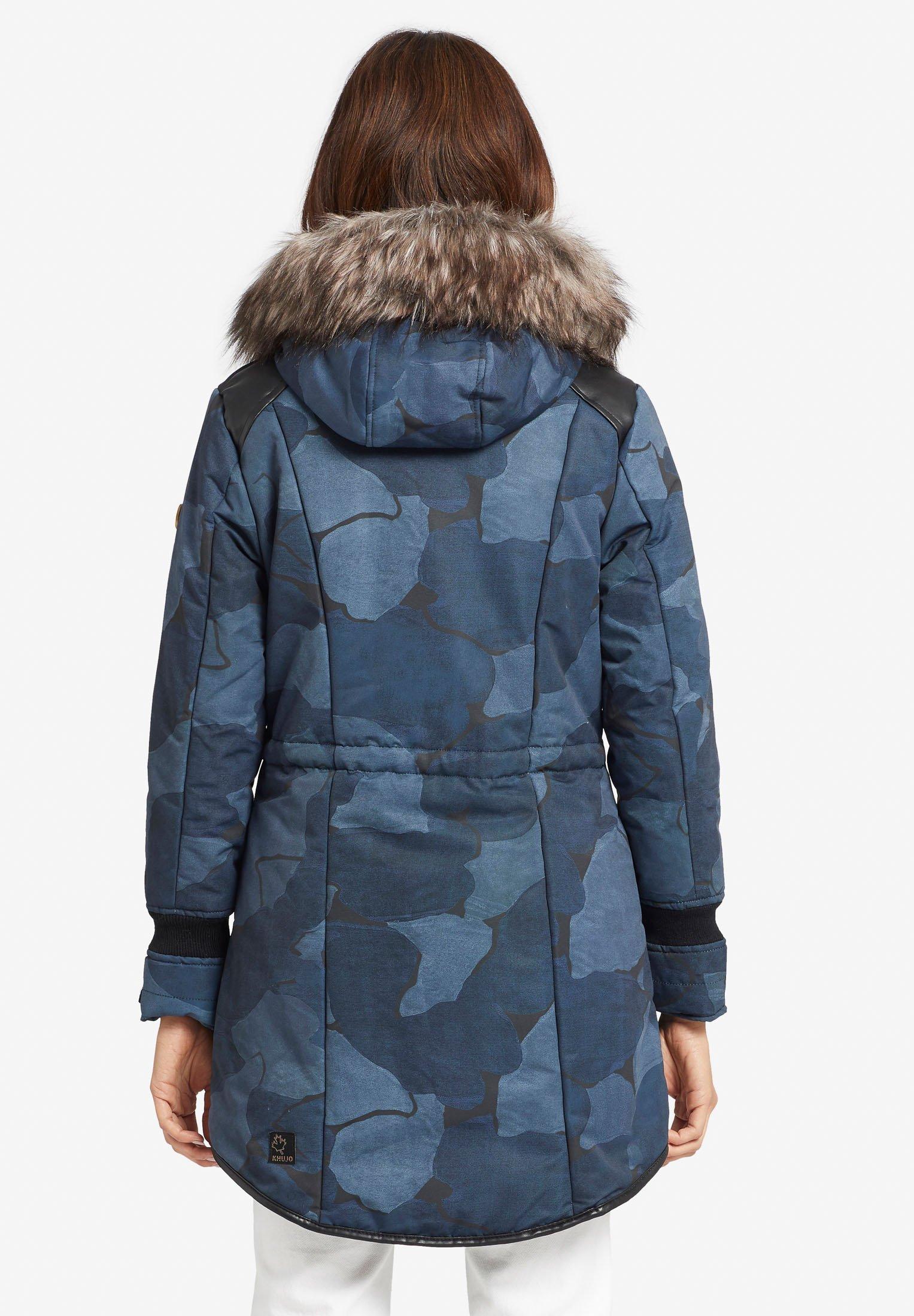 MICHAEL MICHAEL KORS Mantel Damen Jacke Parka Gr. XS blau