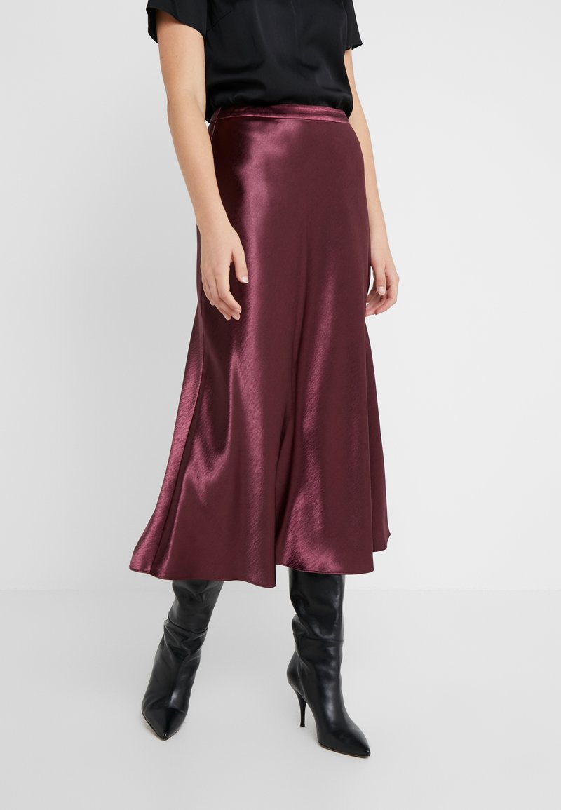 HUGO - RACELA - A-line skirt - medium red