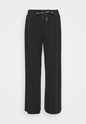 FLUID PANT - Bukse - black