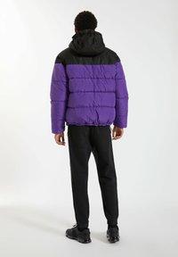 PULL&BEAR - Winter jacket - purple - 4
