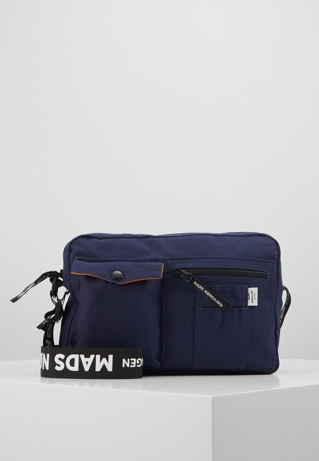 CAPPA LOGO - Across body bag - navy