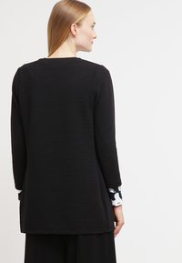 ONLY - ONLLECO LONG  - Cardigan - black - 2