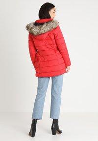 ONLY - ONLNORTH COAT  - Winter coat - goji berry - 3