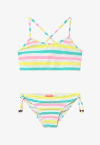 Sunuva - GIRLS MULTI STRIPE CROSS BACK - Bikini - multi-coloured - 2