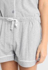 DKNY Intimates - TOP BOXER PJ - Pyjamas - grey heather - 3