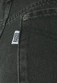 The Ragged Priest - PANEL MOM FRAY SEAMS - Straight leg jeans - charcoal/grey - 2