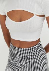 PULL&BEAR - T-shirt print - white - 4