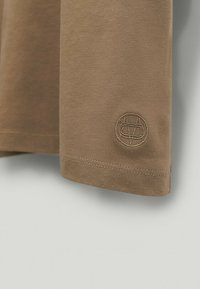Massimo Dutti - Basic T-shirt - brown - 5