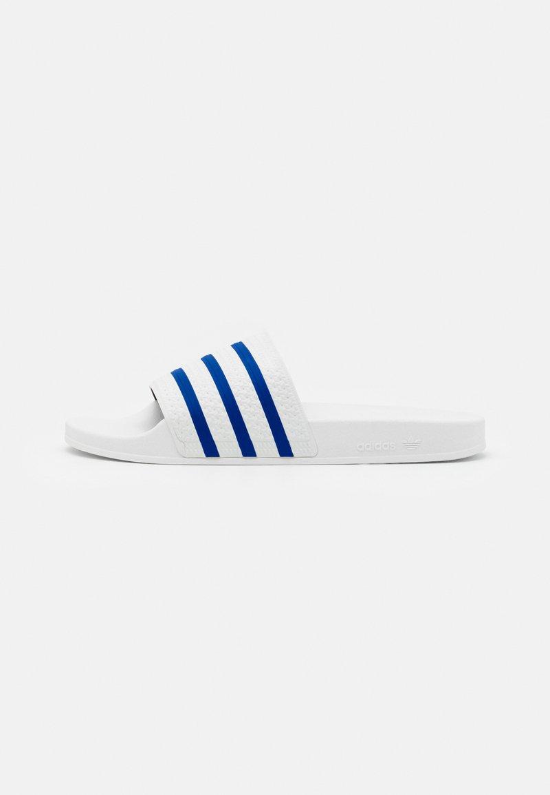 adidas Originals - ADILETTE UNISEX - Muiltjes - footwear white/glory blue