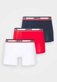 Levi's® - LOGO BOXER BRIEF 3 PACK - Underkläder - white/blue/red - 0