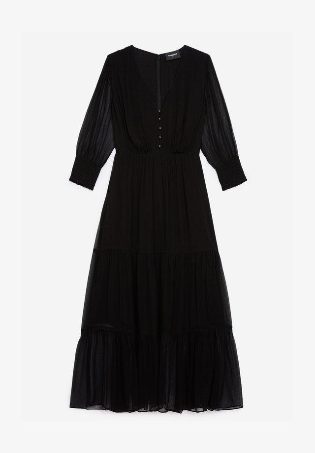 À VOLANTS - Sukienka letnia - black