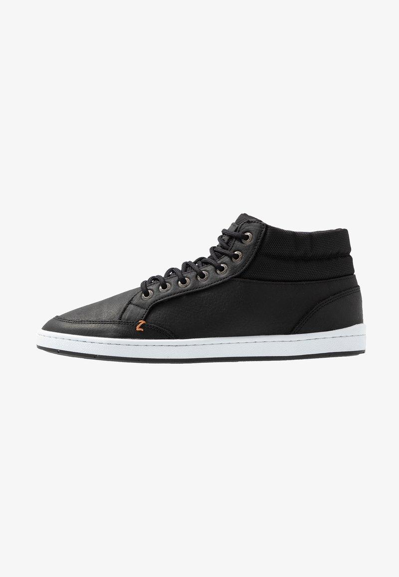 HUB - INDUSTRY - Sneakers high - black/white