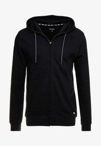 ISCAR - Zip-up hoodie - black