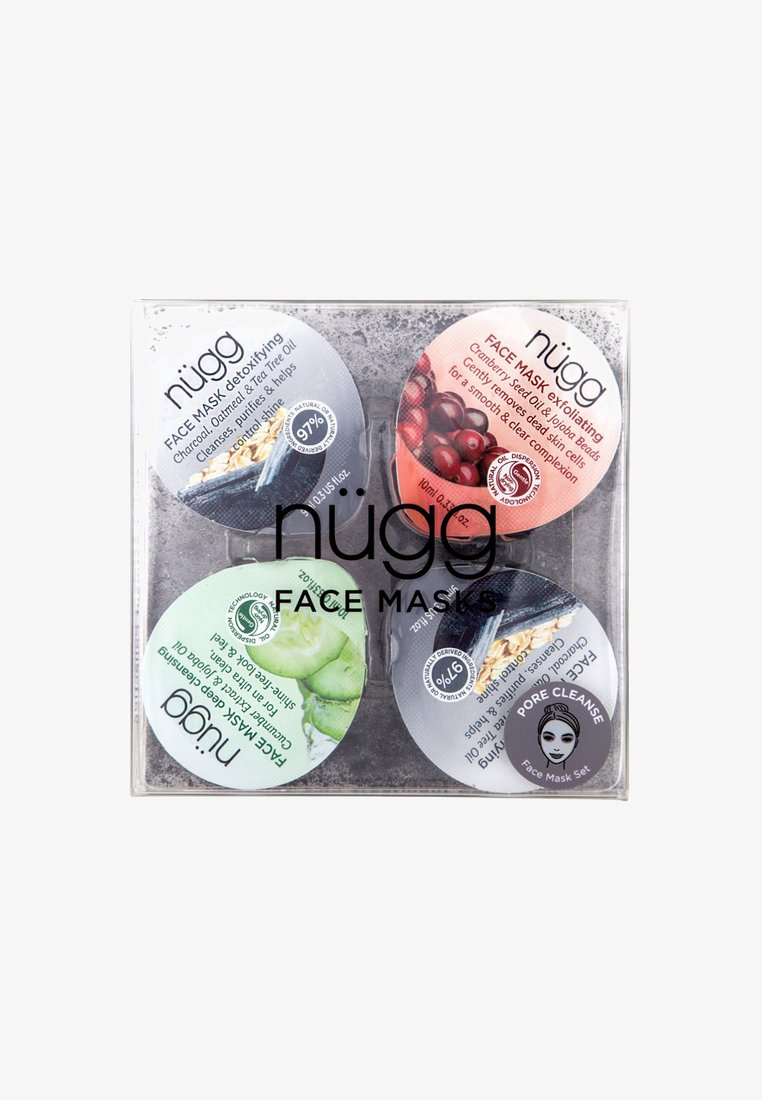 nügg - PORE CLEANSE FACE MASK 4 PACK FOR OILY, COMBINATION & ACNE PRONE - Skincare set - neutral