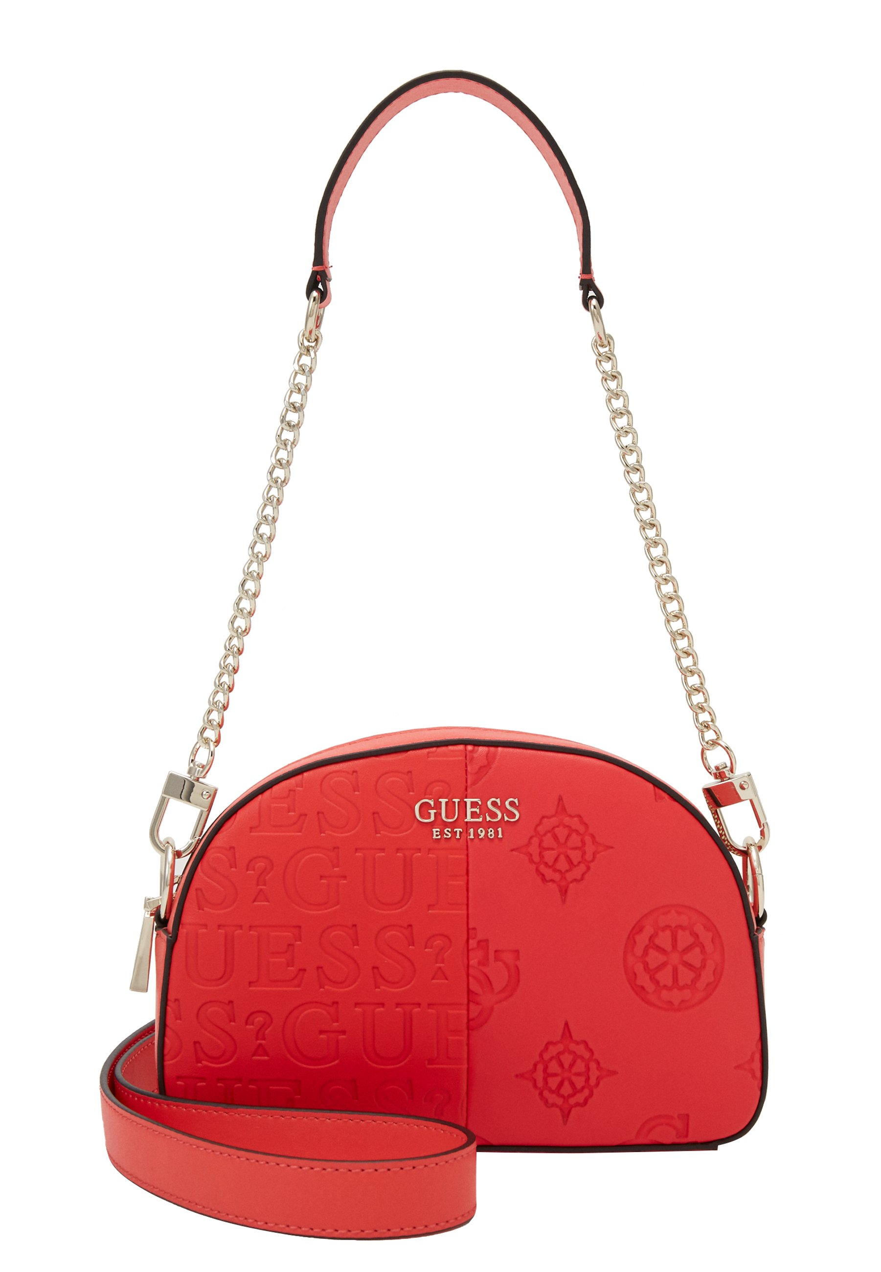Guess KAYLYN MINI CROSSBODY TOP ZIP - Håndveske - red/rød lVDATCxli3Od8jp