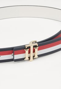 Tommy Hilfiger - LOGO BELT REVERSIBLE - Belt - blue - 3