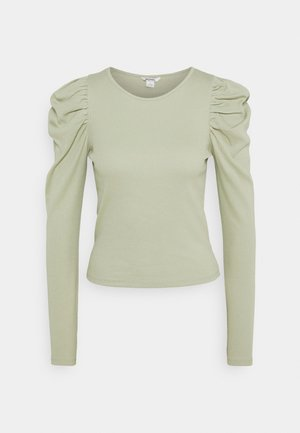 OFELIA - Long sleeved top - green dusty light