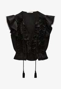 Uterqüe - Blouse - black - 4