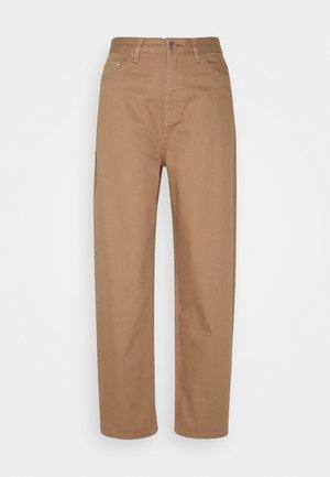 AVELON - Straight leg jeans - toasted