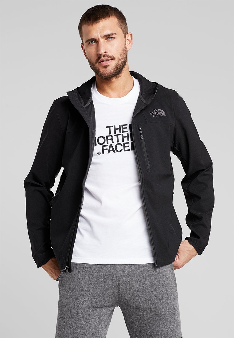 The North Face - NIMBLE HOODIE - Softshellová bunda - black