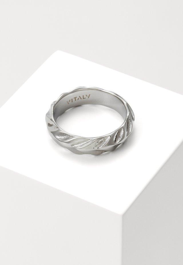 SERPENTINE UNISEX - Prsten - silver-coloured